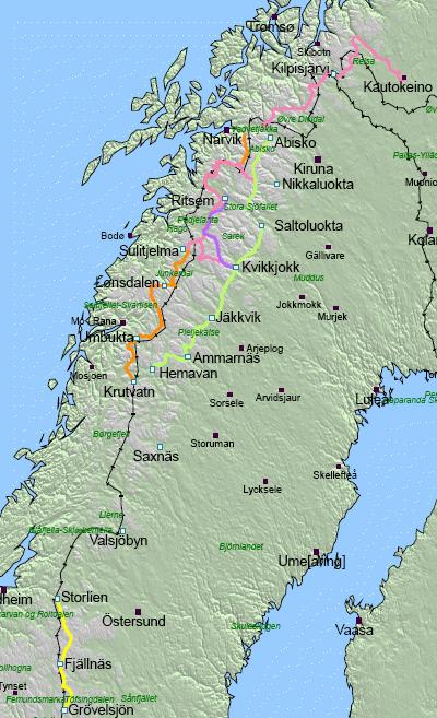 Schweden Karte Pdf.Sudlicher Kungsleden